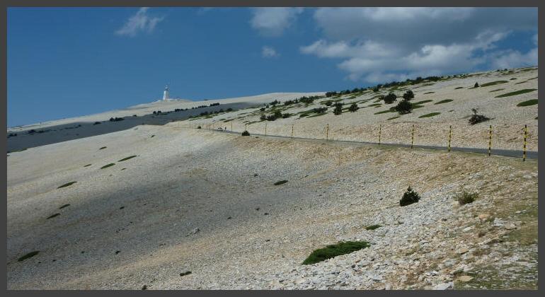Le Mont Ventoux, de uitdaging voor elke fietsliefhebber !
